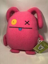 "UGLYDOLL Ox - Plush Stuffed Doll - Pink - 2003 Retired - 12"" Item# 90201"