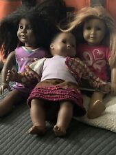 American Girl Pleasant Company ADDY doll , Bitty Baby Lot Of 3