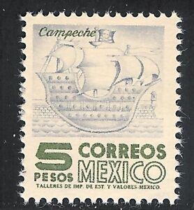 pa164 Mexico Arquite MNH paper 6 Sc#929a Mc#1017bllz Et#aa164