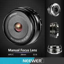 Obiettivi a focus manuale per fotografia e video F/2.8 28mm