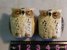 VINTAGE LEGO JAPAN  OWL SALT AND PEPPER SET!
