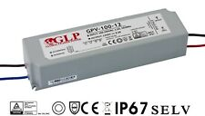 GPV-100-12 99,6 Watt - 12 Volt LED Trafo Treiber Netzteil IP67 Wasserfest