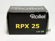 5 rolls Rollei RPX 25 B&W Film 35mm 36exp 135-36 FREESHIP