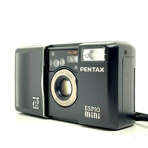 【EXC++++】 PENTAX ESPIO MINI Black Point & Shoot 35mm Film Camera From JAPAN