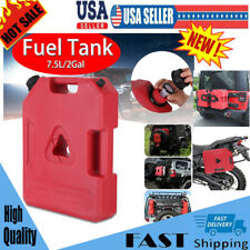 2 Gallon Fuel Pack Spare Container Off Road ATV Pack Jerry Can Polaris Gas Can