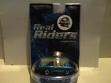 Hot Wheels Real Riders Series 1967 Pontiac GTO w/Dream Cruise Tampo's on Trunk