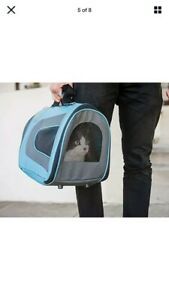 Pet Magasin Soft-Sided Pet Travel Carrier (Airline Approved) for Cats, Small Dog