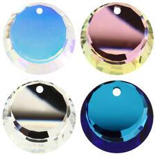 Genuine SWAROVSKI 6210 Round Crystal Pendants * Many Sizes & Colors
