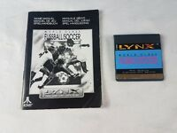 WORLD CLASS SOCCER ATARI LYNX GAME WITH MANUAL