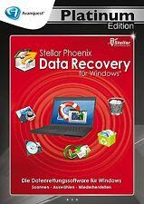 Stellar Phoenix Data Recovery für Windows - Avanquest Platinum Edition in DVD