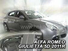 4 Deflettori Aria Antiturbo Alfa Romeo Giulietta 2010 in poi 5 porte