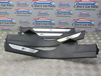BMW X5 F15 Kick Plate M Sport Set Front & Rear Sill Covers 7284577 13/11