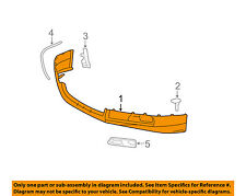 TOYOTA OEM 2007 Camry Spoiler-Front Bumper Grille Grill-Spoiler 7685106901