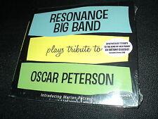 "CD NEUF ""RESONANCE BIG BAND plays tribute to OSCAR PETERSON"""