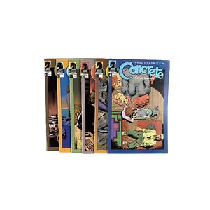Concrete: The Human Dilemma #1-6 Full Set (2004) Dark Horse Comics