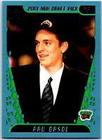 2001-02 Topps #223 Pau Gasol Rookie Card Memphis Grizzlies