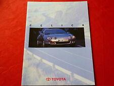 TOYOTA Celica Basis + GT Prospekt von 1996