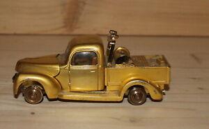 Vintage metal pick up truck lighter