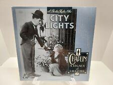 City Lights Laserdisc Charlie Chaplin Legacy Laughter Virginia Cherrill not dvd