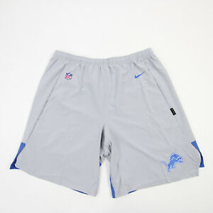 Detroit Lions Nike OnField Athletic Shorts Men's Gray New with Tags