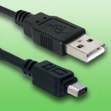 Cable USB para cámara digital pen E-PL1 de Olympus | Cable de datos | Longitud 1, 5 m