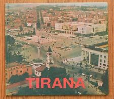 "ALBANIA "" TIRANA"", PHOTO ALBUM OF ITS ARCHITECTURE, 1990"