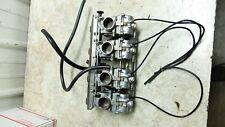 82 Kawasaki KZ1100 D KZ 1100 Spectre Mikuni smooth bore carbs carburetors rack