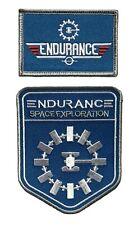 Interstellar Movie Space Exploration Endurance Top Gun Patch [2PC]