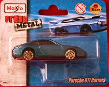 ** Porsche 911 Carrera**Modellauto**Maisto**Fresh Metal**Neu**.petrol