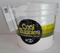 Cool Bubbles Air Pump 11Qt Insulated Bait Saver Keep Your Bait Alive Catch More