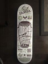 ORGANIKA ADELMO JR - Samba Skateboard Deck - NEW  (LRG A# OBEY Zoo York Es ipath