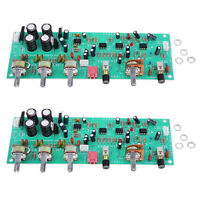 2 Pieces DX338A HIFI Tone Board Preamplifier Control Board High Performance