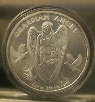 1 oz .999 silver Guardian Angel NIUE 1 dollar silver coin beautiful woman 2017