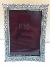 "WHOLESALE... Decorative Vintage Pewter Picture Frame 3.5"" x 5"" ( LOT of 10)"