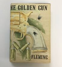 1965 Ian Fleming James Bond The Man With The Golden Gun Jonathan Cape HB DJ 1st