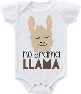 Kids Baby Grow No Drama Llama