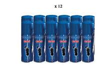 LOT DE 12 RECHARGE DE GAZ UNIVERSELLE SILVER MATCH POURBRIQUET 250 ML NEUF