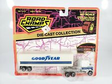 Road Champs GOODYEAR Kenworth COE Tractor Trailer HO Scale Diecast New NOC