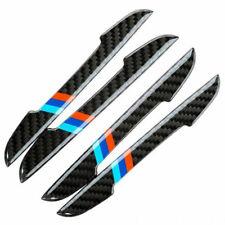 4x Carbon Fiber Car accessories Door Scratch Bumper Scuff Trim Stickers for BMW