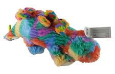 "16.5"" Tye Dye Dinosaur Stegosaurus Stuffed Animal Plush Super Soft"