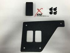 CAN-AM COMMANDER MAVERICK TWO SWITCH DASH CONSOLE PANEL PLATE ROCKER SWITCHES