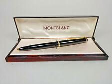 Montblanc Hebelkuglschreiber Nr. 38 MB Mine + Kunststoff Etui marmoriert vintage