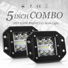2x 300W phare de travail LED work light rampe Lampe tracteur camion SUV Feux 12V