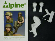 Alpine Miniatures 1/35th US Tanker #2, Vietnam War, NIP, Resin kit number 35161