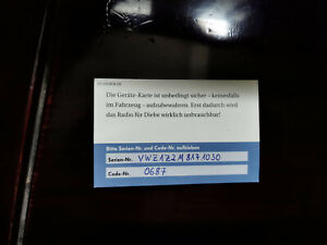 SEAT PIN CODE RADIO UNLOCK CODE ALANA IBIZA LEON ALTEA | ALL MODELS