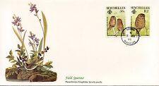 ENVELOPPE / BIRDS OF THE WORLD /  / FAUNE /  OISEAU / SEYCHELLES  / 1985
