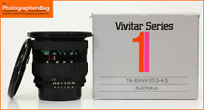 Vivitar Series 1  19-35mm F3.5-4.5 Zoom Lens. Nikon   + Free UK Post