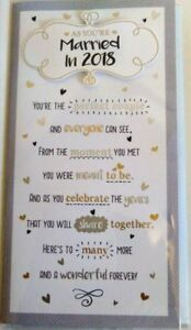 Celebrations Congratulations Card , As You're Married In 2018