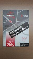 ► BBA - stadsdienst Bergen op Zoom - dienstregelingboekje 28 november 1993