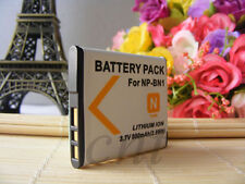 NEW Battery For Sony NP-BN1 Cyber-shot DSC-TX7 DSC-TX5 DSC-W380 W370 W350 W830